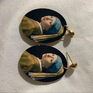 Painting Vintage Earrings